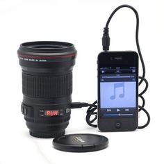 Camera Stytle Speaker For iPhone 4S