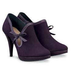 Ornate Opulence Purple Shoes