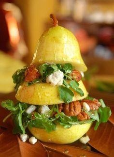 Vertical Pear Salad