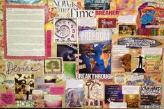 Scriptural Vision Board 2013 art therapi, therapi project, wound warrior, vision board, life vision, board 2013