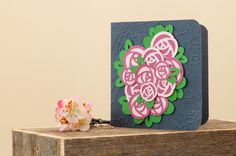 Mother's Day Floral Bouquet Card. Make It Now in Cricut Design Space