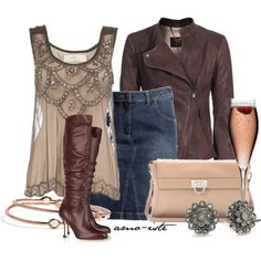 Cute outfit for a girls night out
