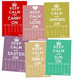 printable calendar!!! 2012