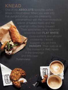 Knead Coffee shop in Kloof Street Cape Town http://nadia-akester.blogspot.com/