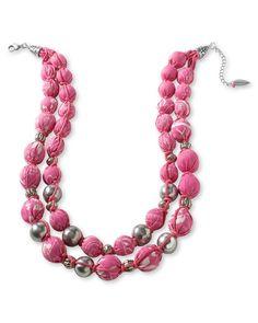 pink bandana necklace coldwater creek
