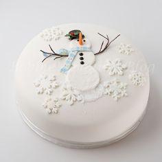 snowman cake, cake tutorial, diy snowman, cakes, cake decor, 2a cake