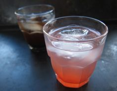 drinking vinegars: sour cherry-lime & strawberry-rhubarb black pepper shrub | everybody likes sandwiches