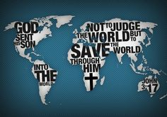 God sent Jesus not to condemn, but to save the world