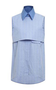 Blue And Pale Blue Danube Shirt by Ellery  on Moda Operandi