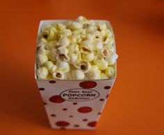 American Girl Doll Food. Yummy popcorn by FauxRealFood on Etsy