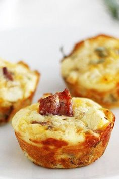 Apples, bacon and sharp Cheddar cheese make these sweet and savory ...
