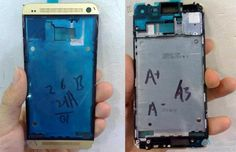 Gold-colored HTC One part leaked in China, we're sensing a trend here