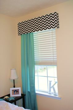 Chevron Window Treatments
