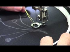 ▶ Free Motion Machine Embroidery - Part 1 - with Christopher Nejman - YouTube