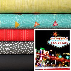 Viva Las Vegas - available soon at Marmalade Fabrics