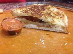 Manchego, Membrillo and Chorizo Panini