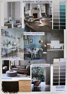 Stijlidee interieuradvies en styling on pinterest for Klassiek modern interieur