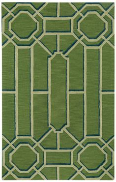 Fretwork Rug in Seaglass from @wmbgbrand and #CapelRugs