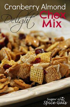 Cranberry Almond Delight Chex Mix on MyRecipeMagic.com