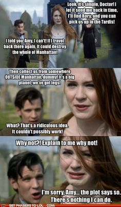 Lol wow... This is why we love Doctor Who