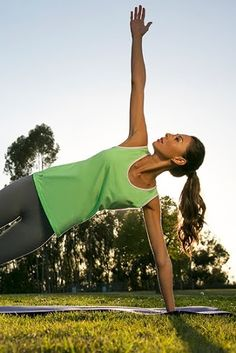 #yoga inspiration - side plank