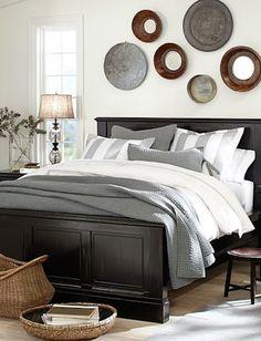 cute grey striped bedding http://rstyle.me/n/p46xhr9te