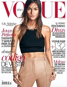Vogue Mexico, July 2014 featuring our Daytona Top
