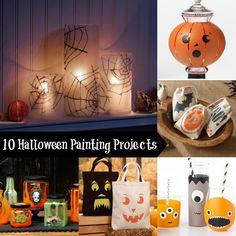 10 projects you'll have to paint for Halloween