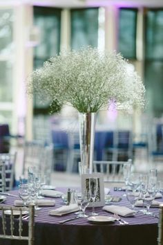 I actually really like the look of the baby's breath - like snow :)