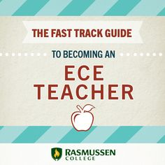 Get on the Fast Track to an Early Childhood Job - blog article #ece #education #teaching