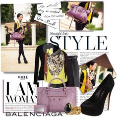 balenciaga bag, created by stacy-gustin on Polyvore
