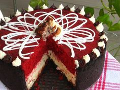 Red Velvet Cheesecake - oh. my. goodness.