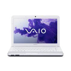 Amazon.com: Sony EG3 Series Laptop VPCEG3PFX/W 14-Inch Laptop (Glacier White): Computers & Accessories