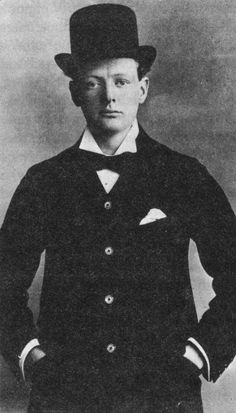 Portrait of Member of Parliament Winston Churchill, 1901