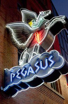 Pegasus Restaurant, Greek Town, Detroit, MI
