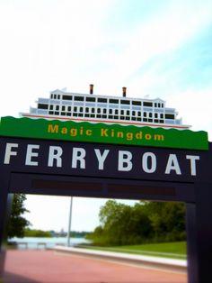 Ferryboat at Magic Kingdom