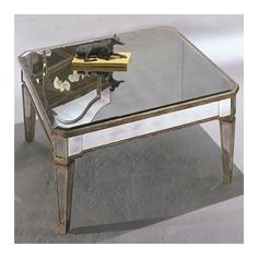Bassett Mirror Borghese Square Cocktail Table