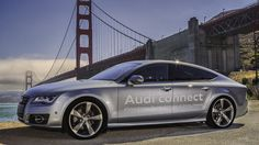 Audi A7 self-driving car