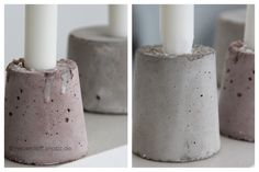 beton giessen on pinterest door stopper concrete pots and candle holders. Black Bedroom Furniture Sets. Home Design Ideas