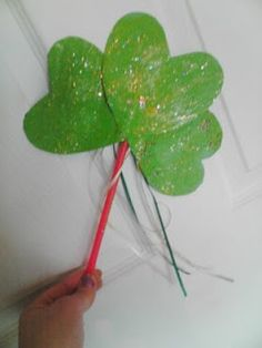 Use Hearts to make a Shamrock Wand.