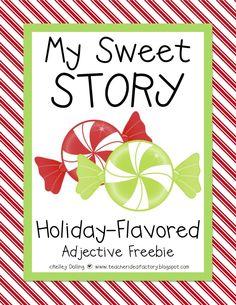 Teacher Idea Factory: MY SWEET STORY: A HOLIDAY-FLAVORED FREEBIE