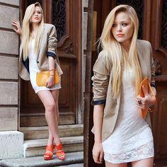 dress and blazer!