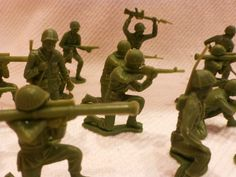 Boys toys from the 1950's. | ARMY Men.