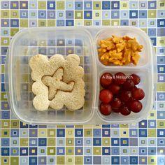 Easy Back-to-School Lunch ideas via www.aboyandhislunch.com
