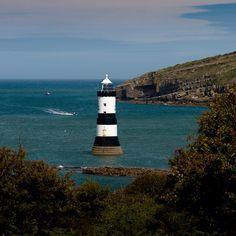Trwyn Du Lighthouse, Wales, UK
