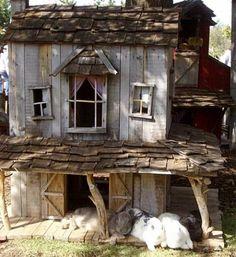 Rustic beautiful hutch