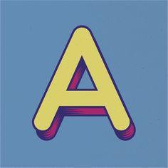 UGO   Typeface   Free Font by Valeria Santarelli, via Behance