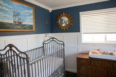 Braylens Vintage Nursery #modernnursery #summerinthecity nurseri