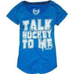 Gongshow Talk Hockey To Me Women's Tee Shirt [Womens] | Total Hockey