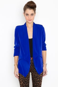 Electric Blue Blazer